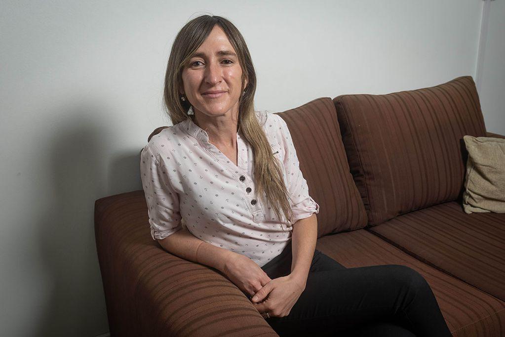Mercedes Llano, diputada provincial por el PD. Integra el frente Vamos Mendocinos y es candidata a senadora nacional. Ignacio Blanco / Los Andes