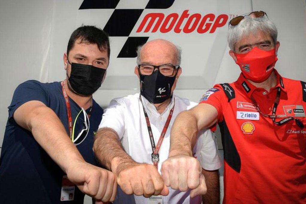 El equipo de Valentino Rossi llega a MotoGP con Ducati