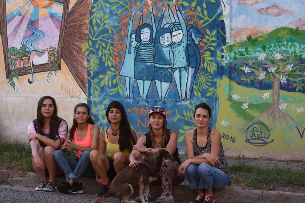Mura Me: la lucha feminista se dibuja en las calles de Mendoza