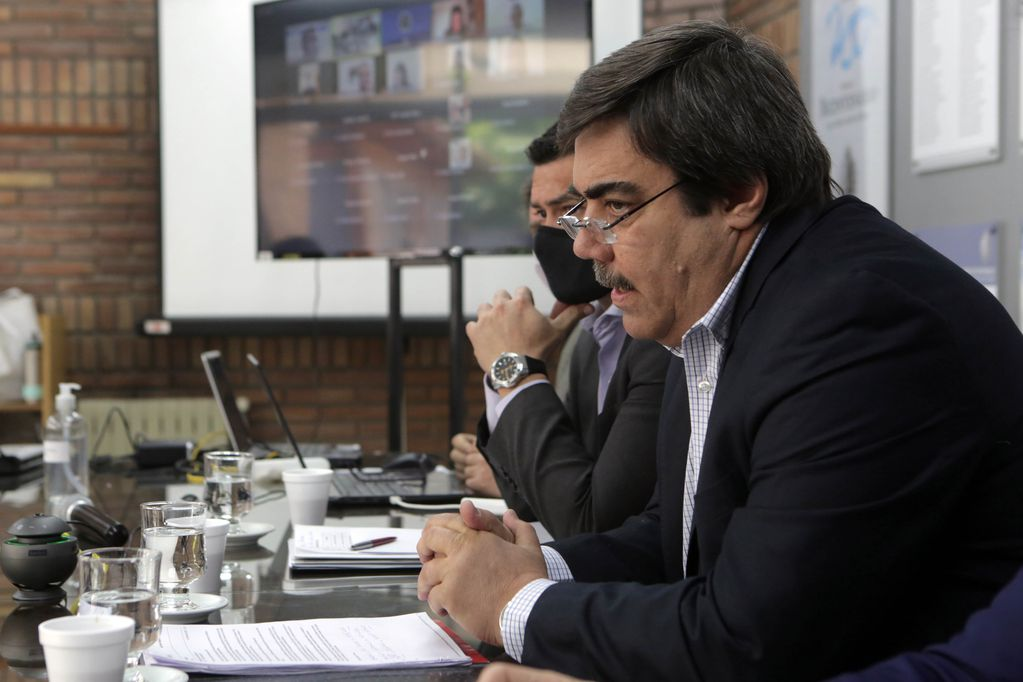 Alejandro Donati, titular de ATM. Prensa Legislatura