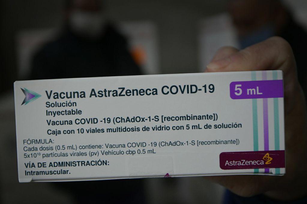 Llegó a Mendoza una partida récord de 96 mil dosis de AstraZeneca: quiénes pueden vacunarse esta semana