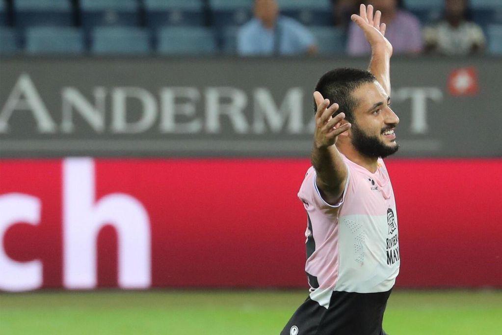 El mendocino Matías Vargas debutó con un gol en la Europa League