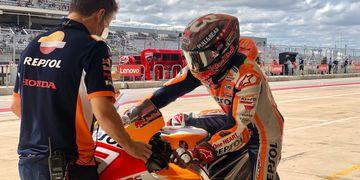 MotoGP: Marc Márquez fue el mejor del viernes en Austin