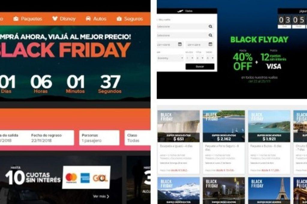 El Black Friday en Argentina: las aerolíneas lanzan ofertas para irse al exterior