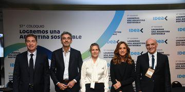 Coloquio de Idea: Santilli, Randazzo, Hotton, Tolosa Paz, Espert.