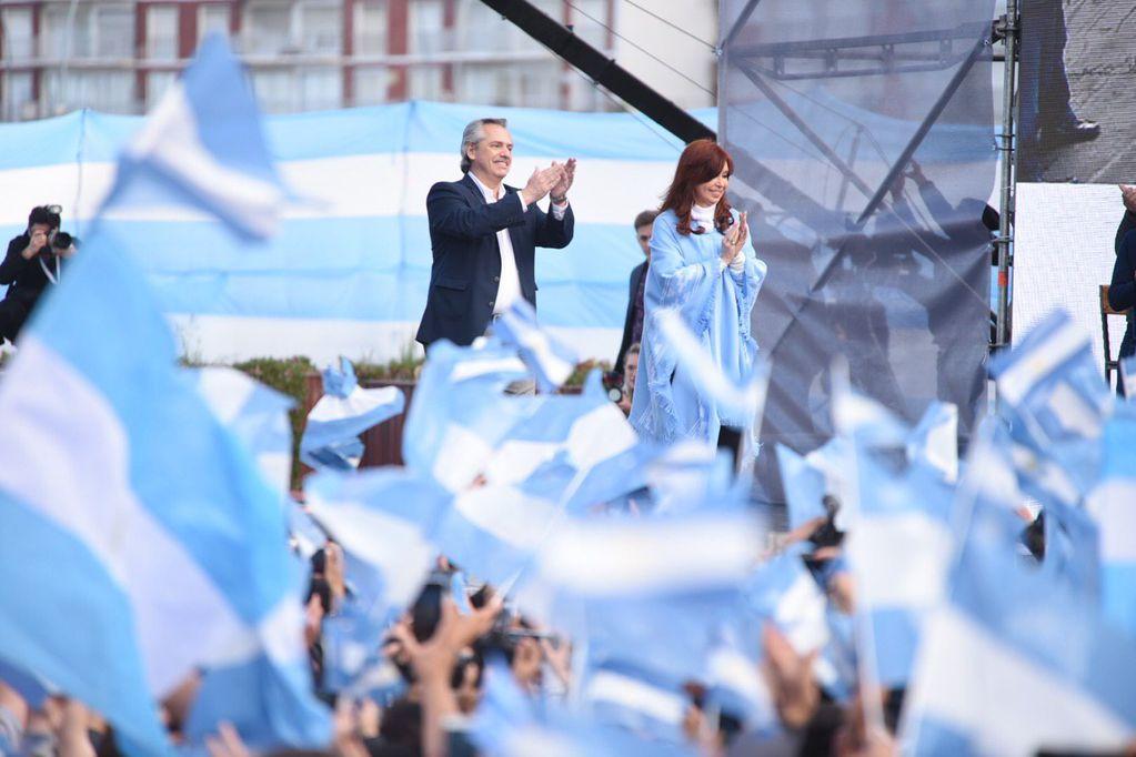 """Alberto Fernández: """"Somos la esencia misma de lo que el pueblo argentino quiere"""""""
