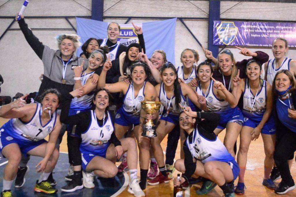 Básquet femeino: después de seis años, el Club Petroleros YPF volvió a gritar campeón