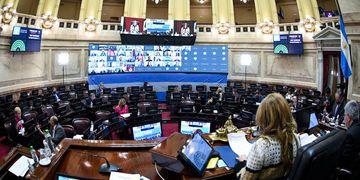 recinto senado sesion 15 julio 2021