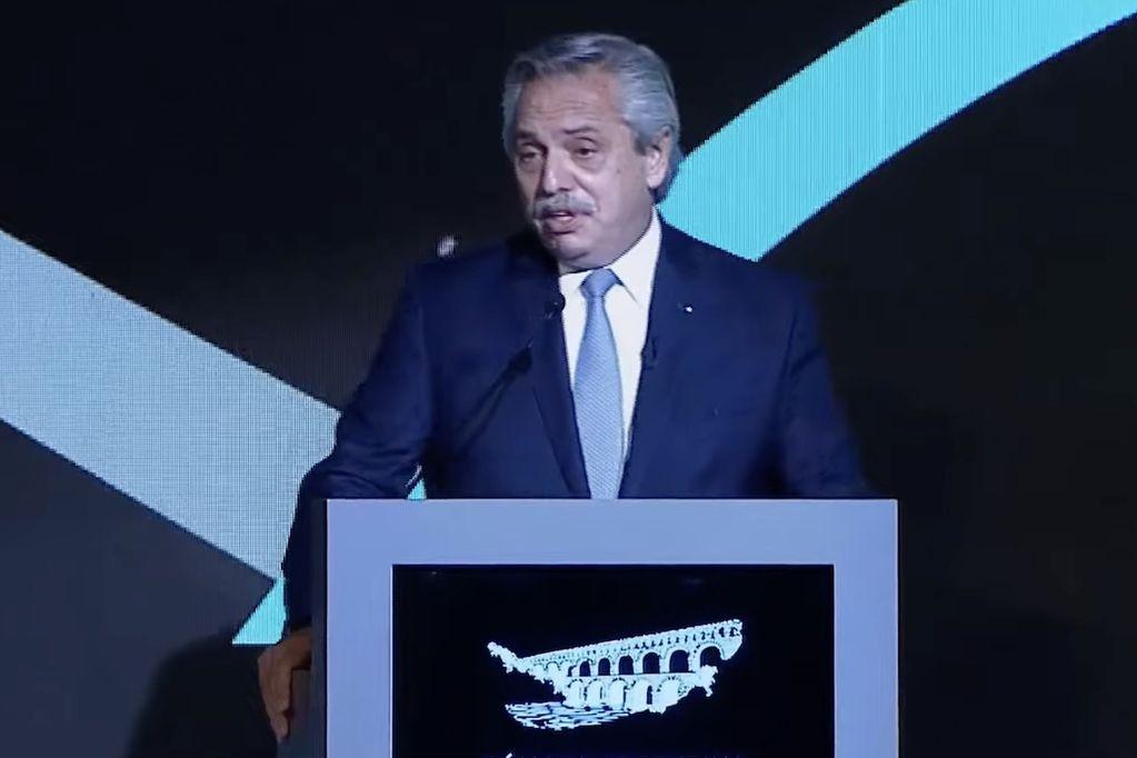 El presidente Alberto Fernández cerró la Convención Anual 2021 de la Cámara Argentina de la Construcción