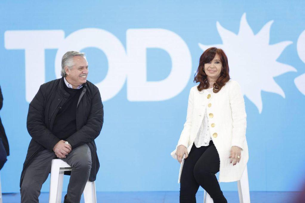 Alberto Fernández y Cristina Kirchner presentaron a los precandidatos para CABA y Provincia