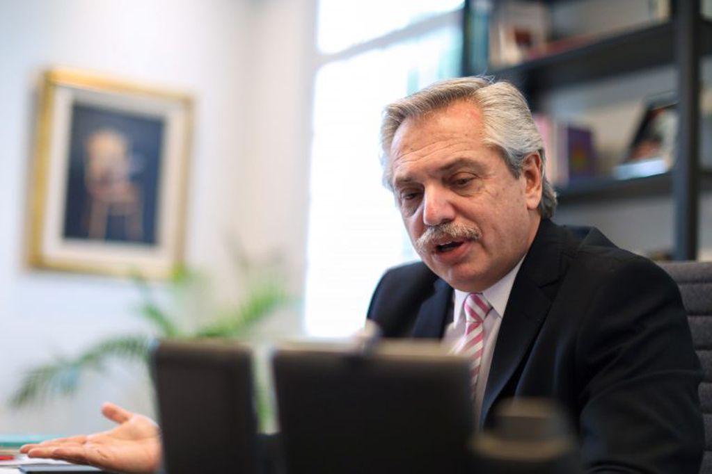 """Fernández sobre el pedido para suspender las PASO: """"Es una idea que impulsan los gobernadores y está en el Congreso"""""""
