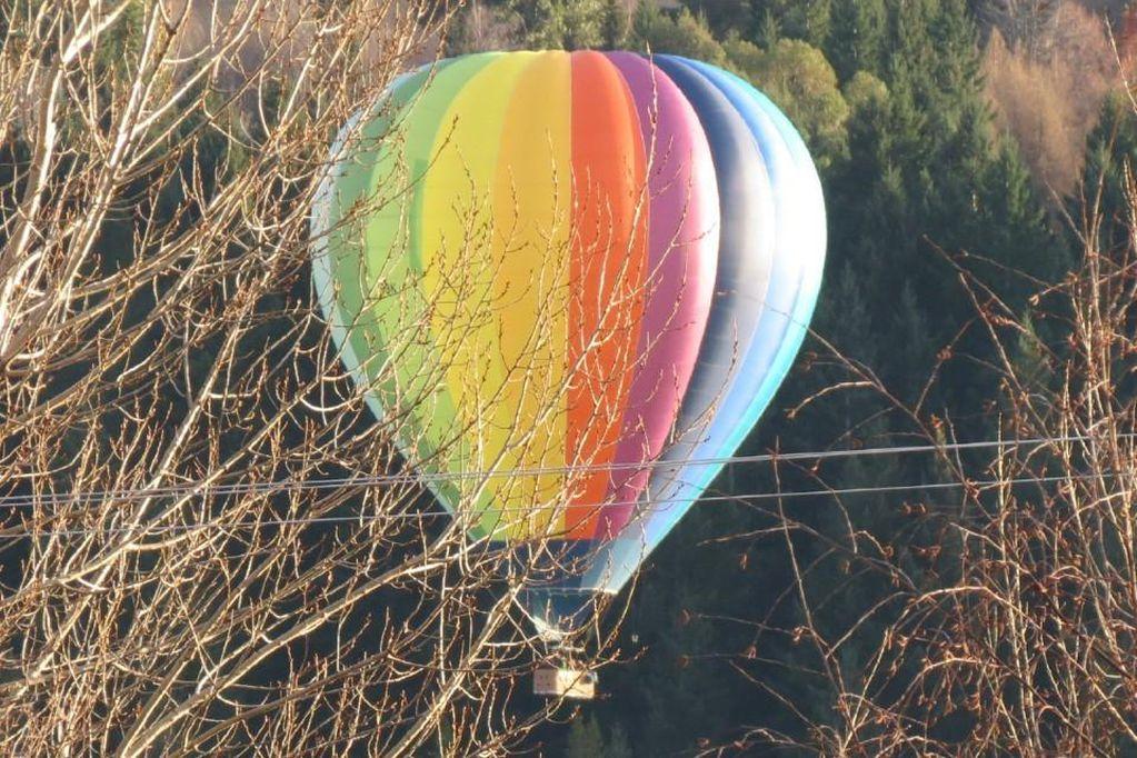 Video: se estrelló un globo aerostático en Nueva Zelanda y hay 11 heridos, 2 graves