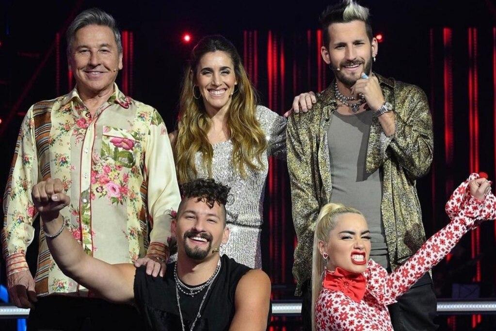 """Los jurados estrella de """" La Voz Argentina""""."""