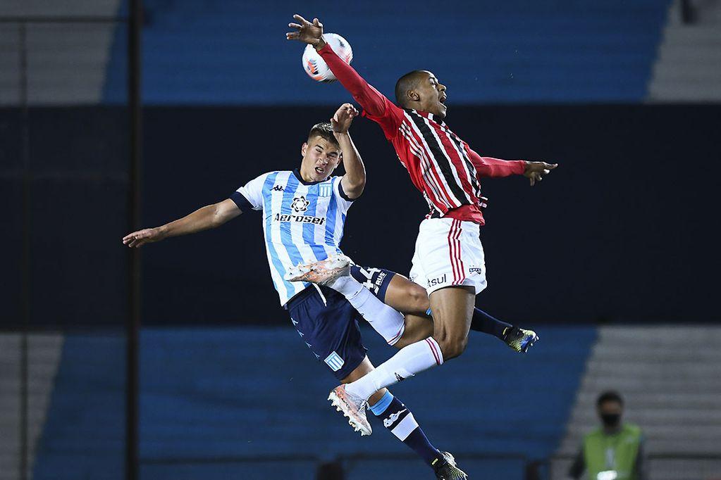 Copa Libertadores: Racing igualó con San Pablo en un duelo que levantó temperatura