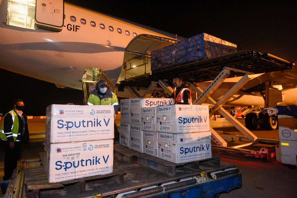 Llegaron otras 500 mil dosis de la Sputnik V: Argentina ya recibió 12,6 millones de vacunas contra el Covid-19