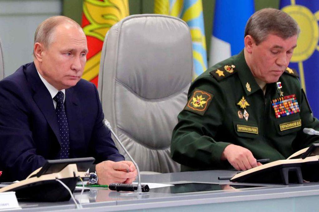 Kremlin. (Mikhail Klimentyev, Sputnik, Kremlin Pool Photo vía AP).