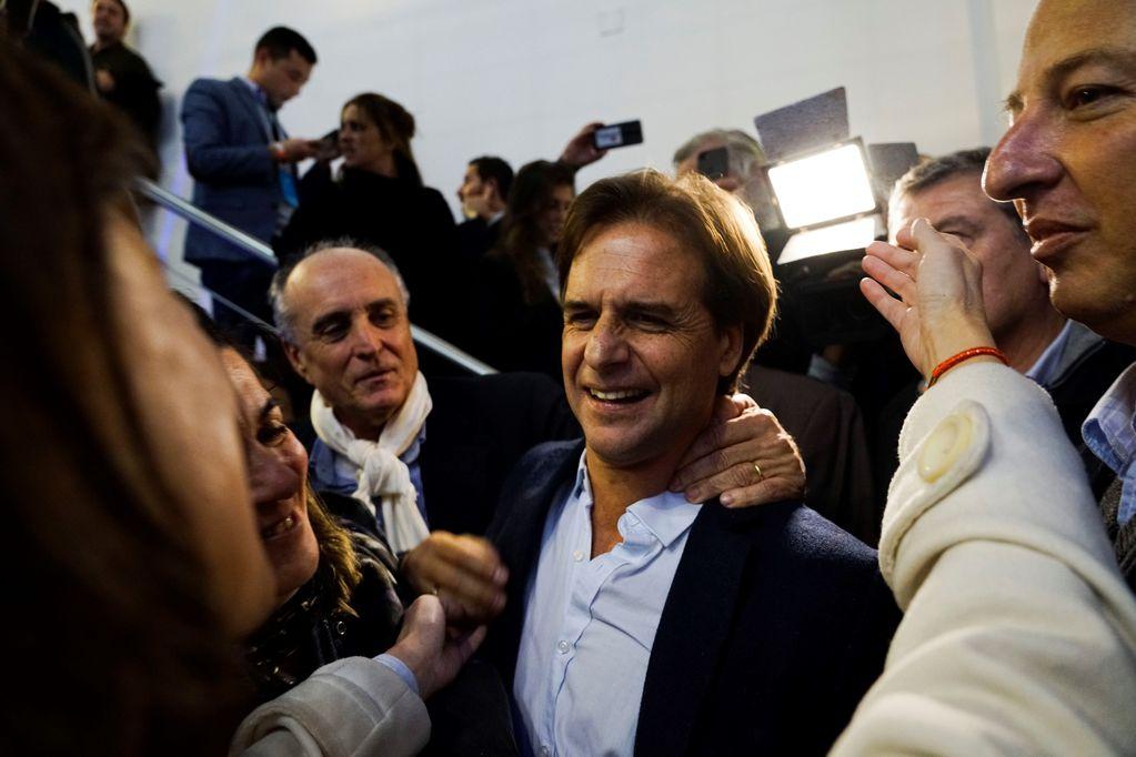 Luis Lacalle Pou empieza con ventaja la carrera presidencial en Uruguay