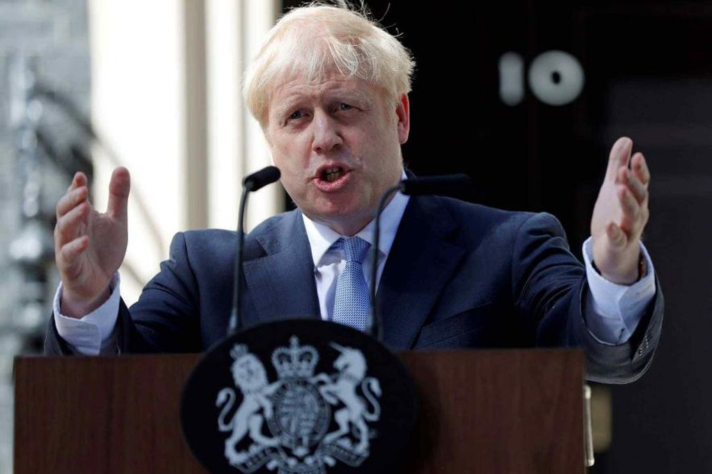 Boris Johnson dijo que no hay desabastecimiento. (AP)