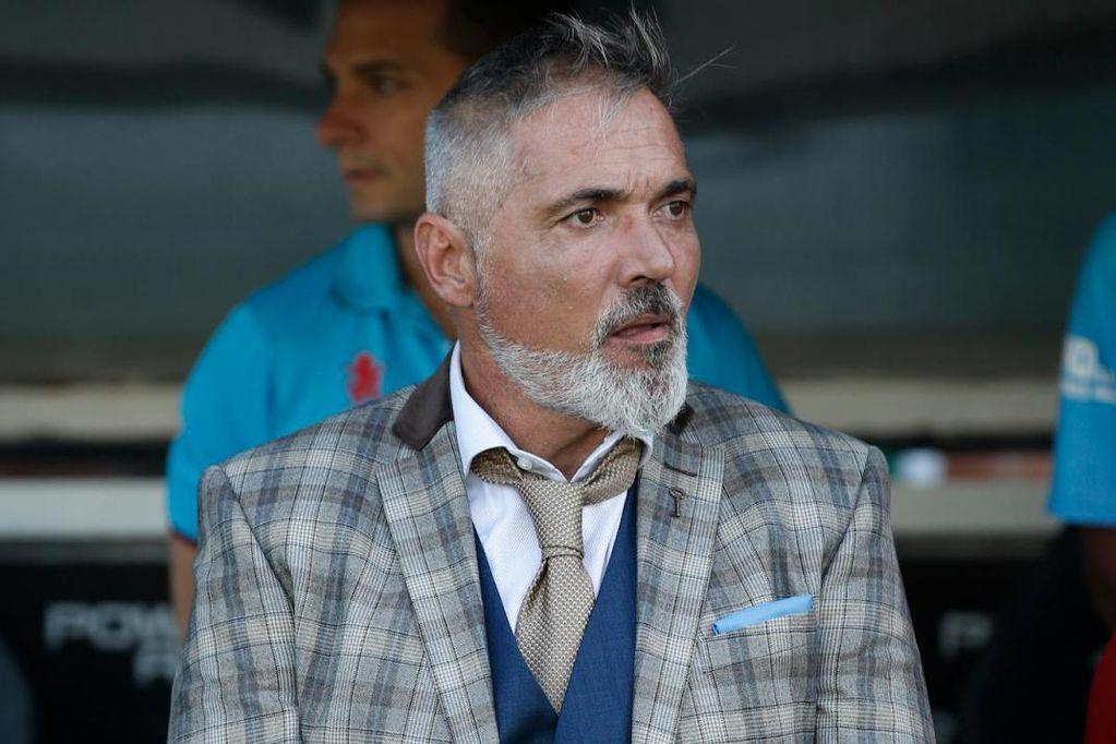 Rondina, el ahora ex adiestrador de Arsenal de Sarandí. / Gentileza La Nación