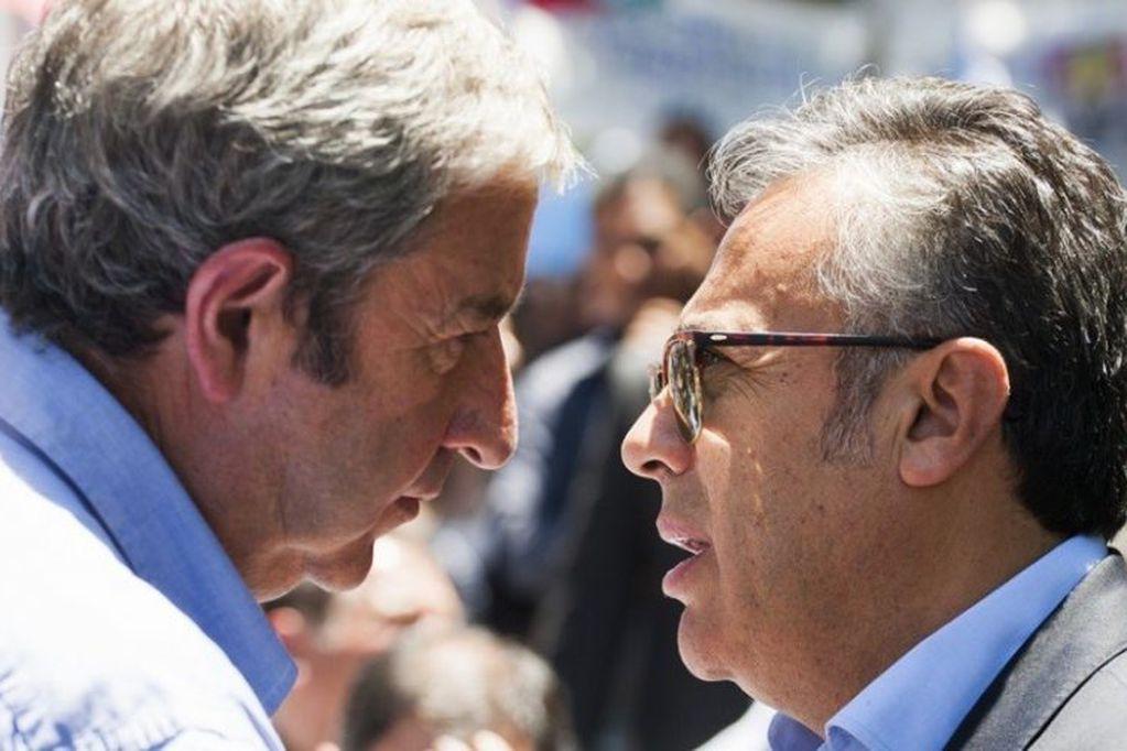 Breves biografías políticas de los dos candidatos con que el oficialismo mendocino pretenderá revalidar sus títulos en estas elecciones legislativas.