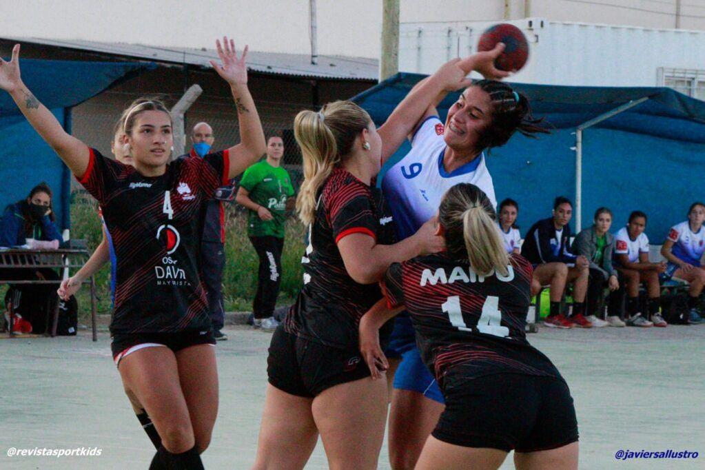 Partidos de handball suspendidos. / Gentileza Javier Sallustro.