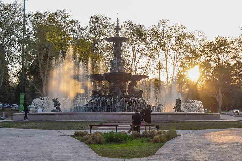 Parque San Martin, Fuente de las Américas.