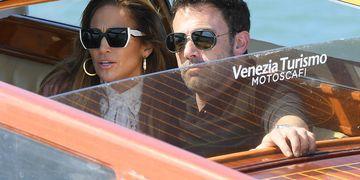 Jennifer Lopez y Ben Affleck llegaron a Venecia y revolucionaron el lugar