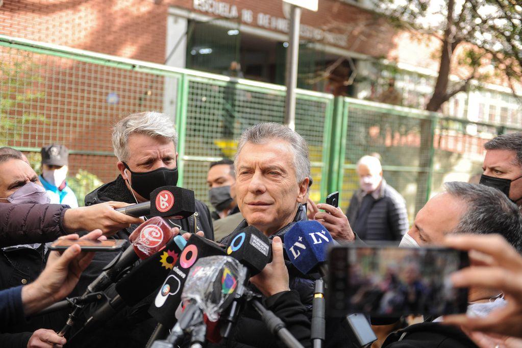 Mauricio Macri por las elecciones Paso 2021 Argentina Foto Federico Lopez Claro