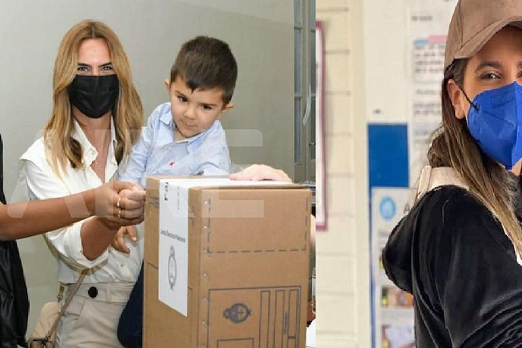 Amalia Granata y Cinthia Fernández pasaron por las urnas y lo mostraron en sus redes