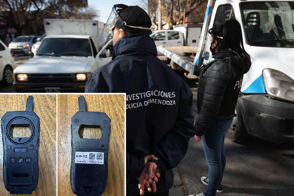 """Capturaron a quienes vendían en Facebook una """"clonadora"""" de llaves de autos robada"""