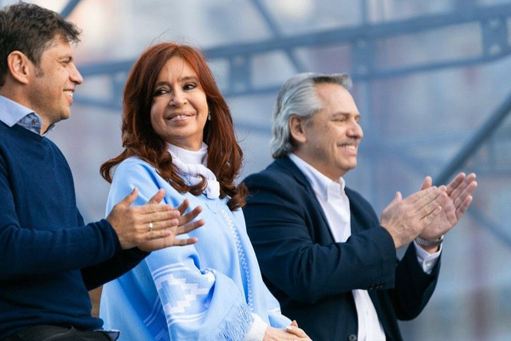 Cristina defendió la decisión de Kicillof de financiar viajes de egresados y apuntó contra el diario Clarín. - Archivo / Los Andes