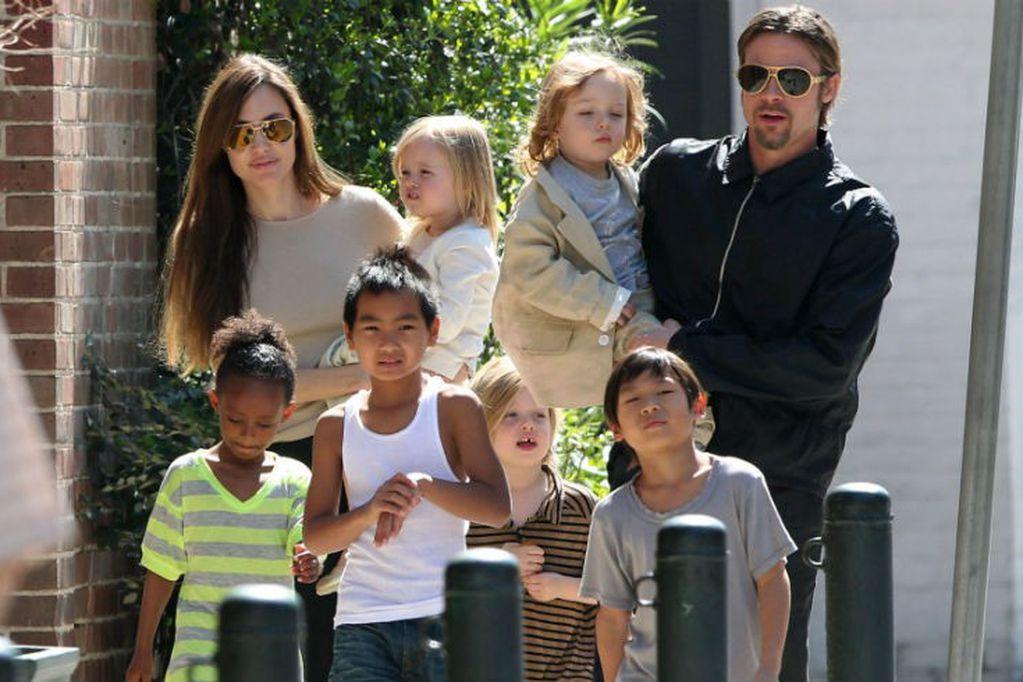 ¡Cómo pasa el tiempo! Así lucen los hijos de Angelina Jolie y Brad Pitt