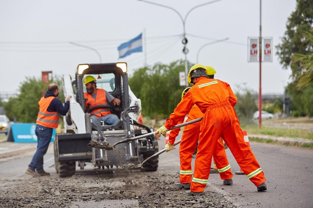 Las Heras y Santa Rosa se endeudan para obras públicas. Marcelo Aguilar