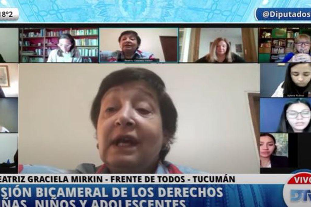 En vivo: Diputados analiza la situación de los adolescentes en pandemia