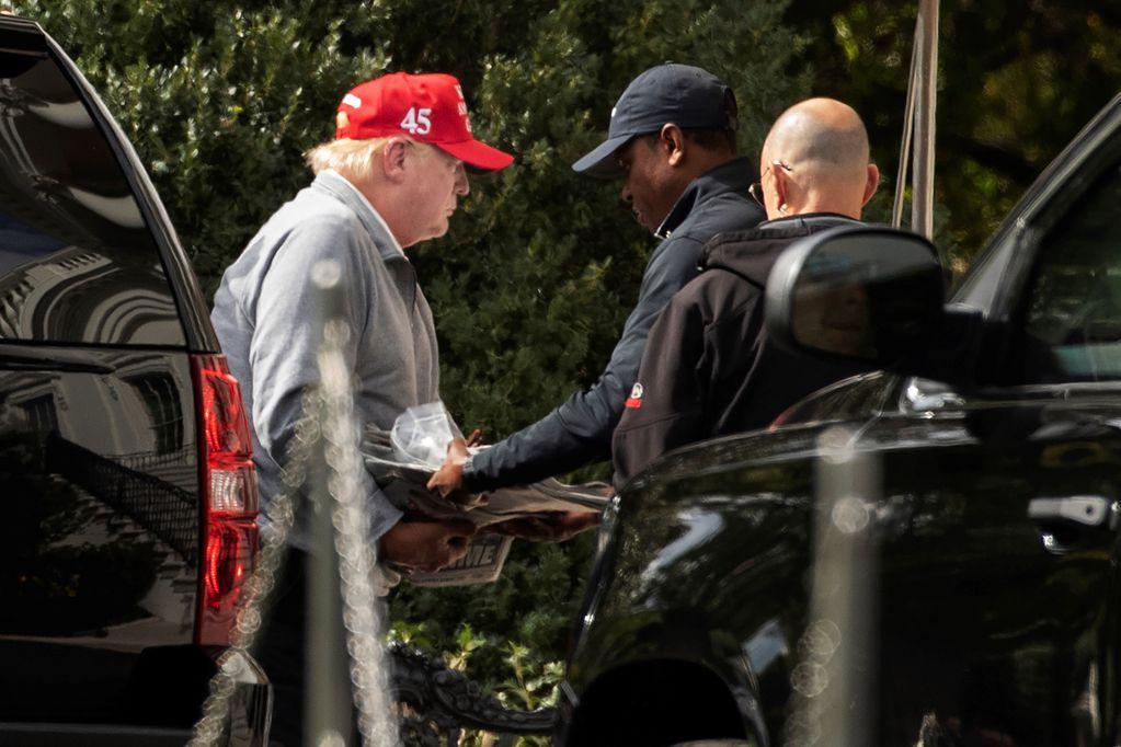 Un segundo informante podría complicar aún más la situación de Trump