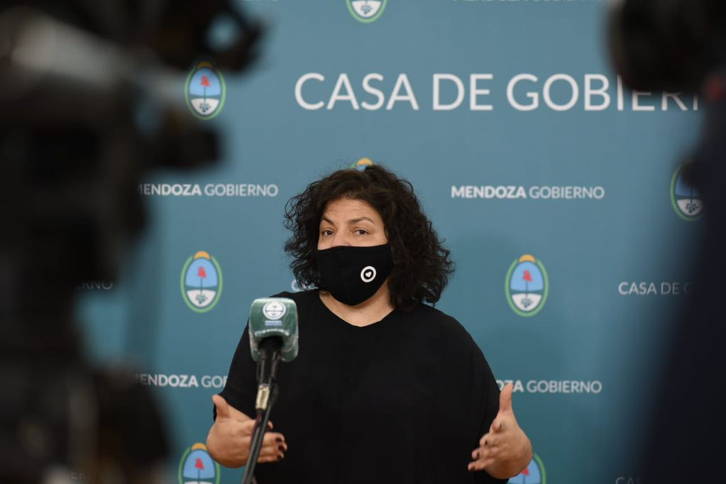 La secretaria de Acceso a la Salud de la Nación, Carla Vizzotti, se desdijo e indicó que, para que sea efectiva, la vacuna rusa precisa de las dos dosis.
